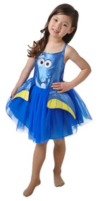 Girls Finding Dory Tutu Fancy Dress Costume