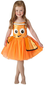 Girls Finding Nemo Fancy Dress Costume