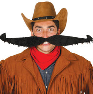 Adult Extra Large Wild West Moustache