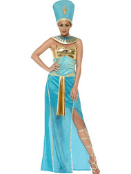 Ladies Egyptian Goddess Fancy Dress Costume