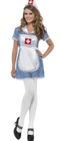 Ladies Naughty Nurse Fancy Dress Costume