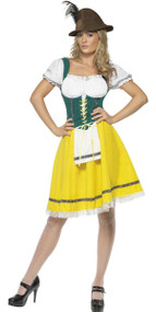 Ladies Classic Oktoberfest Fancy Dress Costume