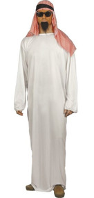 Mens Arab Fancy Dress Costume