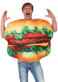 Adult Burger Fancy Dress Costume