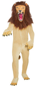 Mens Circus Lion Fancy Dress Costume