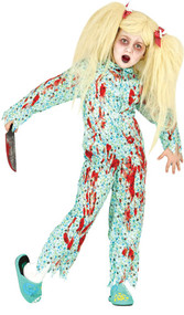 Child's Zombie Pyjamas Fancy Dress Costume
