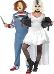 Couples Bride Of Chucky Fancy Dress Costumes