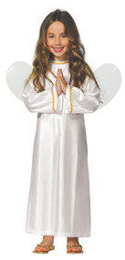 Girls Peaceful Angel Fancy Dress Costume