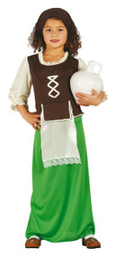 Girls Inn Keeper Fancy Dress Costume