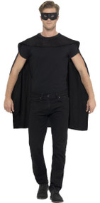 Adults Black Cape