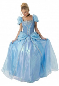 Ladies Grand Heritage Cinderella Fancy Dress Costume