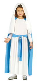 Girls Virgin Mary Fancy Dress Costume