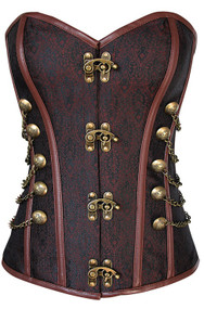 Ladies Professional Quality Steampunk Fancy Dress Corset