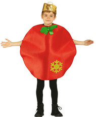 Child's Christmas Bauble Fancy Dress Costume
