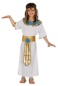 Girls Ancient Egyptian Fancy Dress Costume