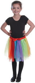 Girls Boys Rainbow Tutu Fancy Dress Costume Accessory