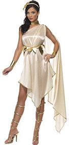 Ladies Sexy Goddess Fancy Dress Costume
