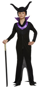 Girls Evil Queen Fancy Dress Costume