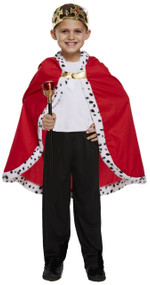 Child's Royal Cloak Fancy Dress Costume