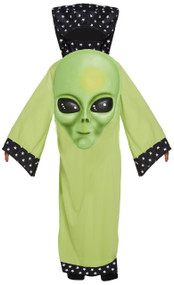 Child's Giant Alien Face Fancy Dress Costume