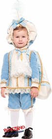 Boys Rich Tudor Prince Fancy Dress Costume