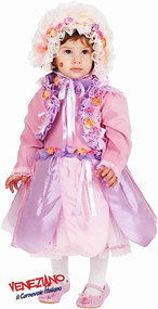 Girls Bon Bon Flower Fairy Fancy Dress Costume