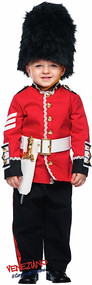 Baby Boys Busby Guard Fancy Dress Costume