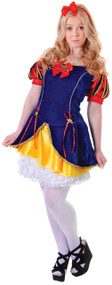 Teen Girls Snow Beauty Princess Fancy Dress Costume