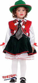 Girls Tirolese Fancy Dress Costume