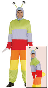 Adult Caterpillar Fancy Dress Costume