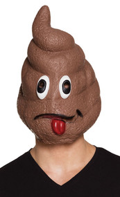 Adult Poo Fancy Dress Mask