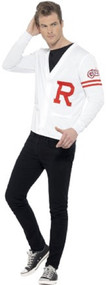 Mens Grease Preppy 50's Fancy Dress Costume Outfit