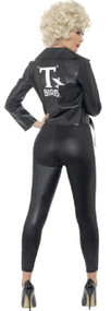Ladies Official Grease Bad Sandy Fancy Dress Costume