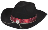 Adults Cowboy Fancy Dress Hat