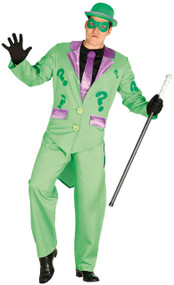 Mens Comic Book Villain Fancy Dress Costume