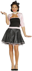 Ladies 1950s Housewife Fancy Dress Costume