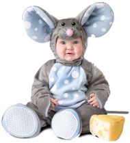 Baby Deluxe Mouse Fancy Dress Costume