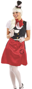 Ladies Miss Rabbit Fancy Dress Costume