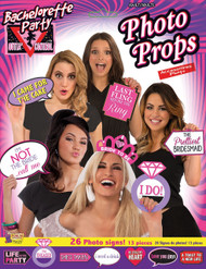 Ladies Hen Night Photo Booth Fancy Dress Props