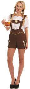 Ladies Bavarian Tavern Girl Fancy Dress Costume