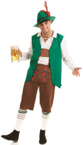 Mens Traditional Bavarian Fancy Dress Costume