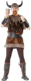 Mens Nordic Viking Fancy Dress Costume 1
