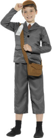 Boys 6 Piece Evacuee Fancy Dress Costume