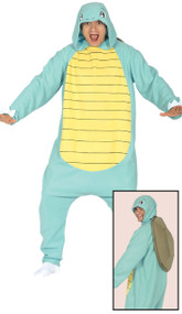 Adults Squirty Turtle Fancy Dress Costume