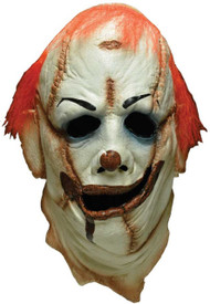 Deluxe Clown Skinner Fancy Dress Mask