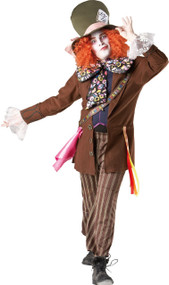 Mens Official Mad Hatter Fancy Dress Costume