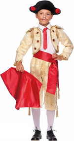 Boys Gold Matador Fancy Dress Costume