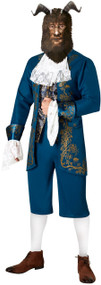 Mens Live Action Beast Fancy Dress Costume