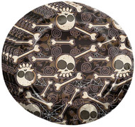Halloween Bones Plates Party Accessory