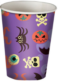 Halloween Purple Cups Party Accessory